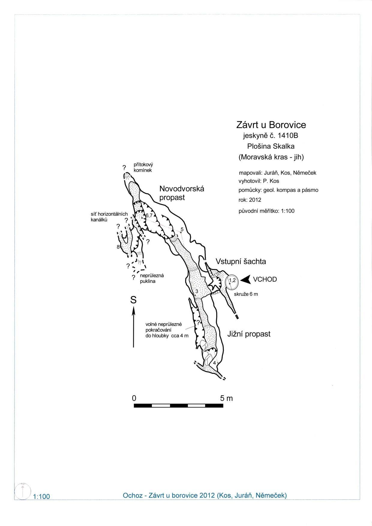 Závrt u Borovice
