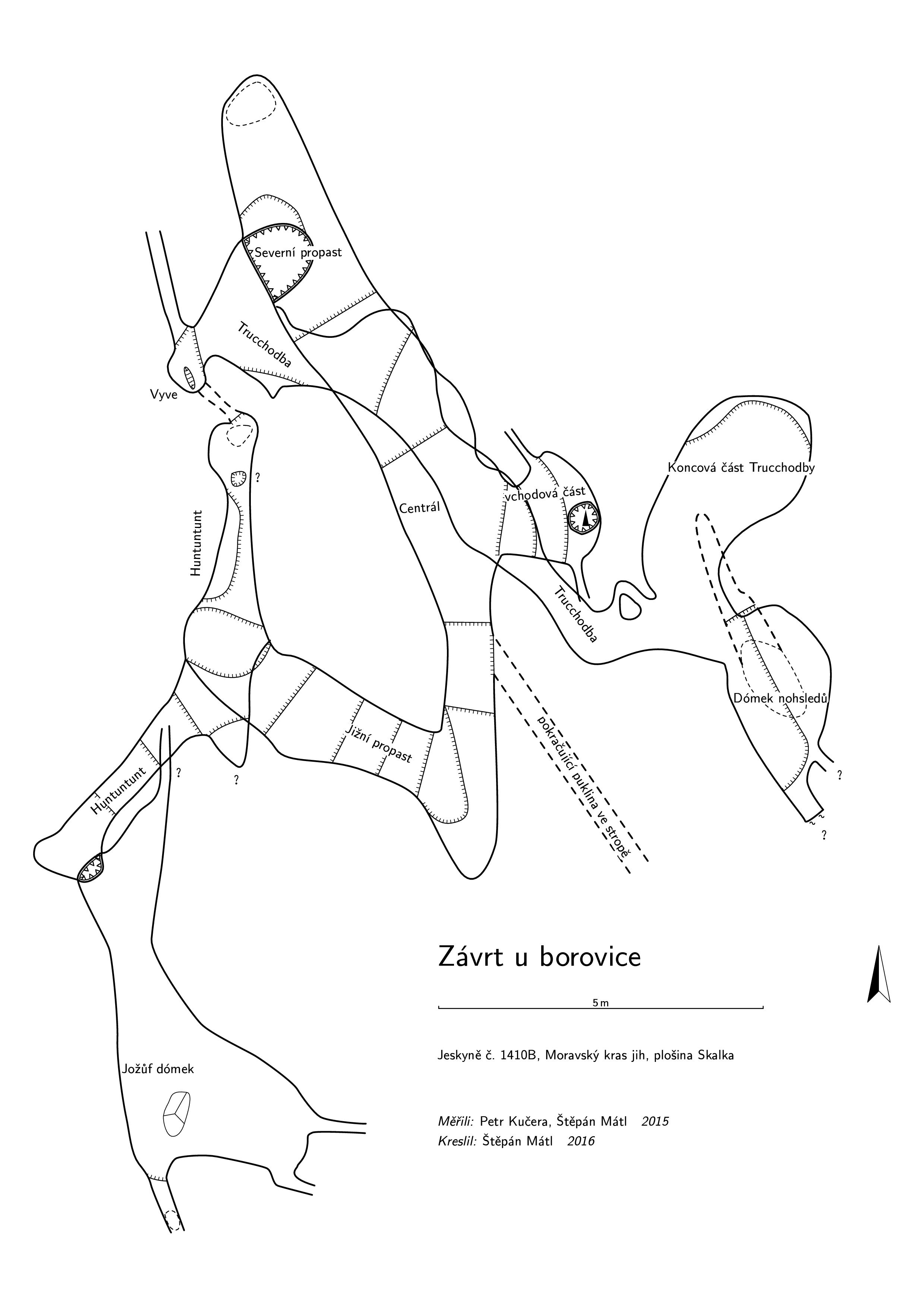 ZUB - půdorys 2015